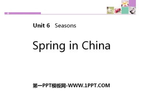 《Spring in china》Seasons PPT下载