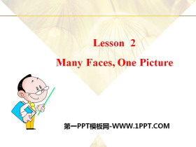 《Many Faces,One Picture》Me and My Class PPT