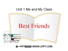 《Best Friends》Me and My Class PPT