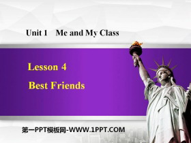 《Best Friends》Me and My Class PPT课件下载