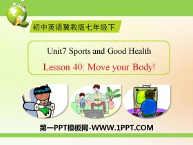 《Move Your Body》Sports and Good Health PPTtt娱乐官网平台