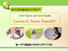 《Know Yourself》Sports and Good Health PPT课件