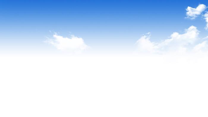 蓝天白云金色树林PPT背景图片