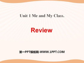 《Review》Me and My Class PPT