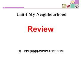 《Review》My Neighbourhood PPT
