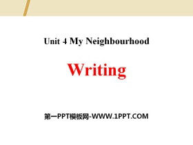 《Writing》My Neighbourhood PPT
