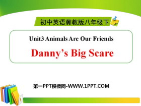 《Danny's Big Scare》Animals Are Our Friends PPT