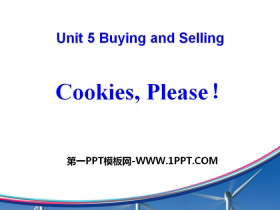 《Cookies,Please!》Buying and Selling PPT
