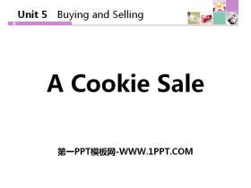 《A Cookie Sale》Buying and Selling PPT教学课件