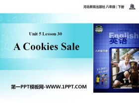 《A Cookie Sale》Buying and Selling PPT免费课件