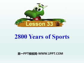 《2800 Years of Sports》Be a Champion! PPT�n件
