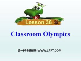 《Classroom Olympics》Be a Champion! PPT�n件