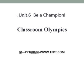 《Classroom Olympics》Be a Champion! PPT�n件下�d