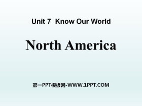 《North America》Know Our World PPT