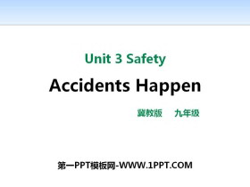 《Accidents Happen》Safety PPT