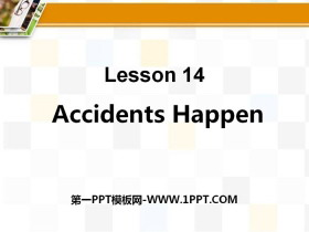 《Accidents Happen》Safety PPT�n件