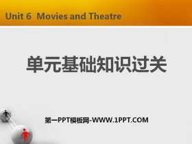 《�卧�基�A知�R�^�P》Movies and Theatre PPT