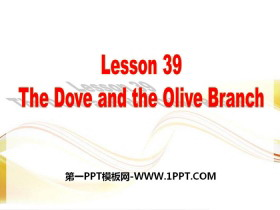 《The Dove and the Olive Branch》Work for Peace PPT教学课件