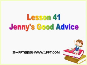 《Jenny's Good Advice》Work for Peace PPT课件下载