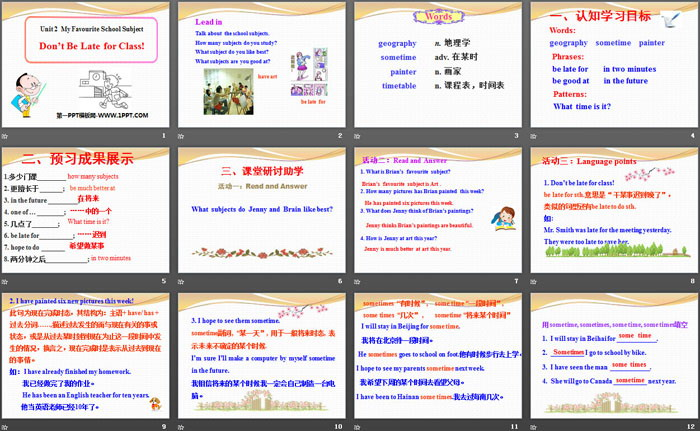 Geography Ppt My Favourite Subject - Www imagez co