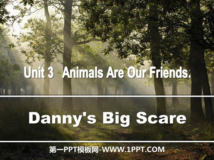 《Danny\s Big Scare》Animals Are Our Friends PPT下载
