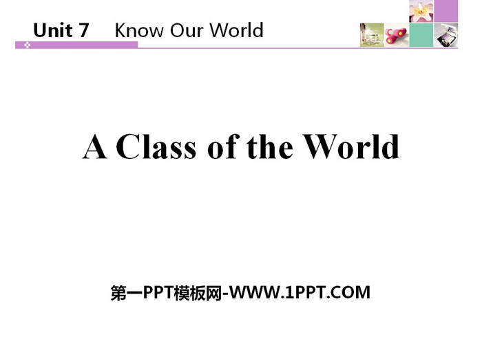 《North America》Know Our World PPT下�d