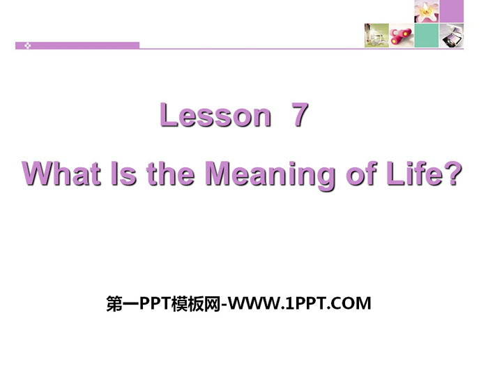 《What Is the Meaning of Life?》Great People PPT教学课件