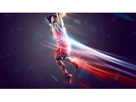 五张与篮球运动有关的必发88背景图片