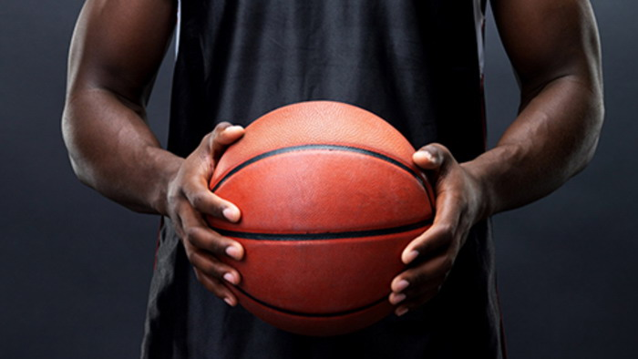 五张与篮球运动有关的PPT背景图片