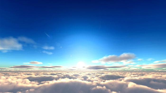 天空��馇�PPT背景�D片