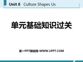 《单元基础知识过关》Culture Shapes Us PPT