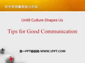 《Tips for Good Communication》Communication PPT课件