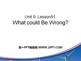 《What Could Be Wrong?》Communication PPT下载