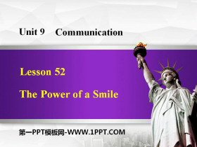《The Power of a Smile》Communication PPT课件
