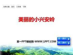 《美丽的小兴安岭》PPT免费课件