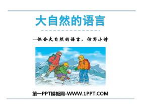《大自然的语言》PPT教学课件