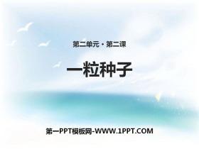《一粒种子》PPT课件下载
