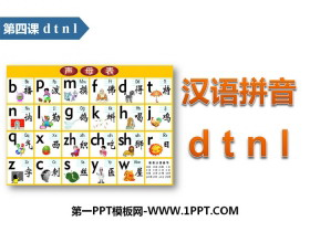 《dtnl》汉语拼音PPT