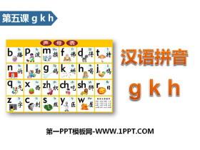 《gkh》汉语拼音PPT