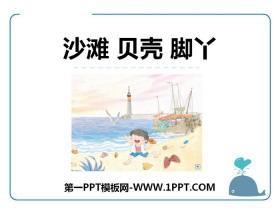 《沙滩 贝壳 脚丫》PPT