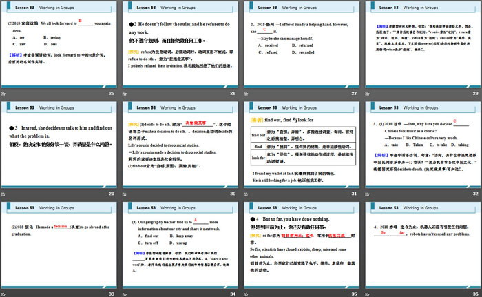 《Working in Groups》Communication PPT教学课件