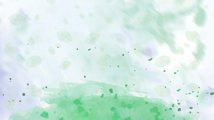 六��模糊水彩PPT背景�D片