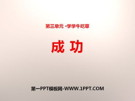 《成功》PPT下载