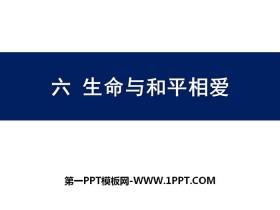 《生命与和平相爱》PPT
