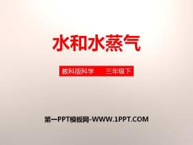 《水和水蒸气》温度和水的变化PPT