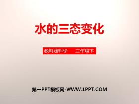 《水的三态变化》温度和水的变化PPT下载