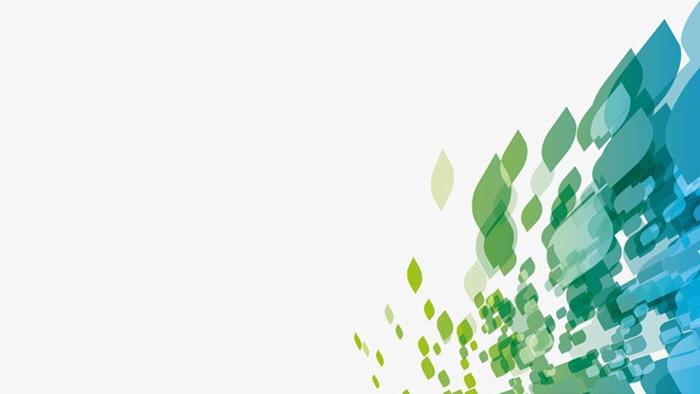 三张绿色抽象PPT背景图片