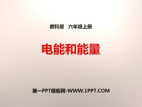 《电能和能量》能量PPT