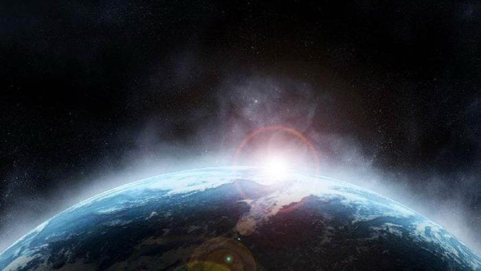 四张星空夜空商务PPT背景图片