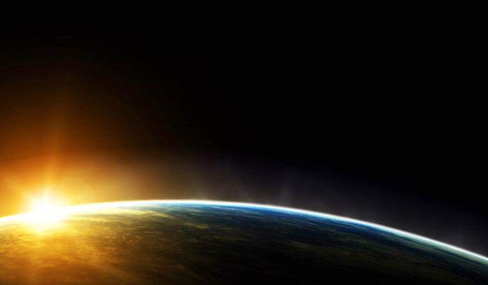 三张星空星球科技PPT背景图